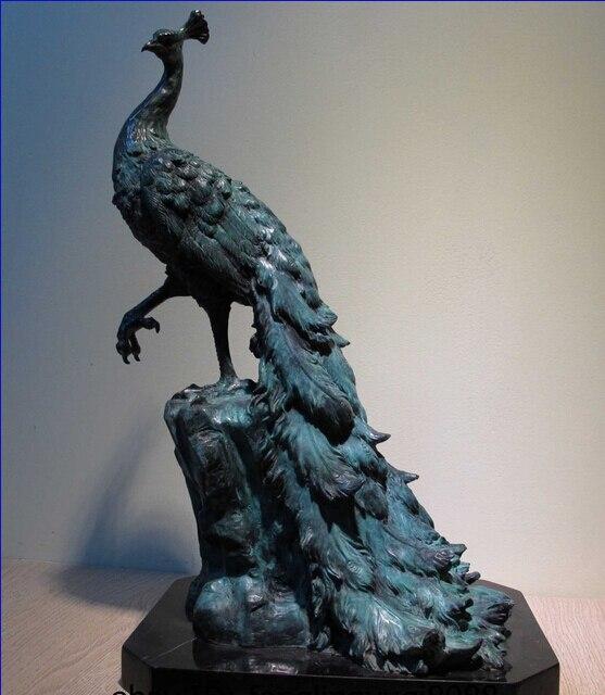 Collectible bronze lion statue s0048 art decor copper Home decor sculptures