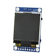 """Visor do Módulo de Tela TFT 1.4 Escudo V1.0.0 ESP8266 para D1 mini 1.44 """"polegada 128X128 SPI LCD ST7735S"""