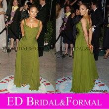 Jennifer Lopez Grün Abendkleid Oscars Award 2006 Roter Teppich-berühmtheit Formale Kleid