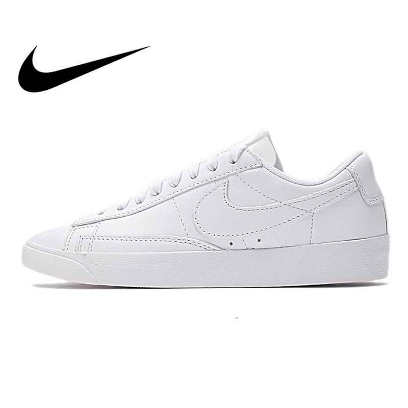 Original NIKE W BLAZER LOW LE Women's Skateboarding Shoes SneakersOutdoor Sports Designer Athletics Official Breathable AA3961 потолочная люстра idlamp deborah 863 3pf oldbronze