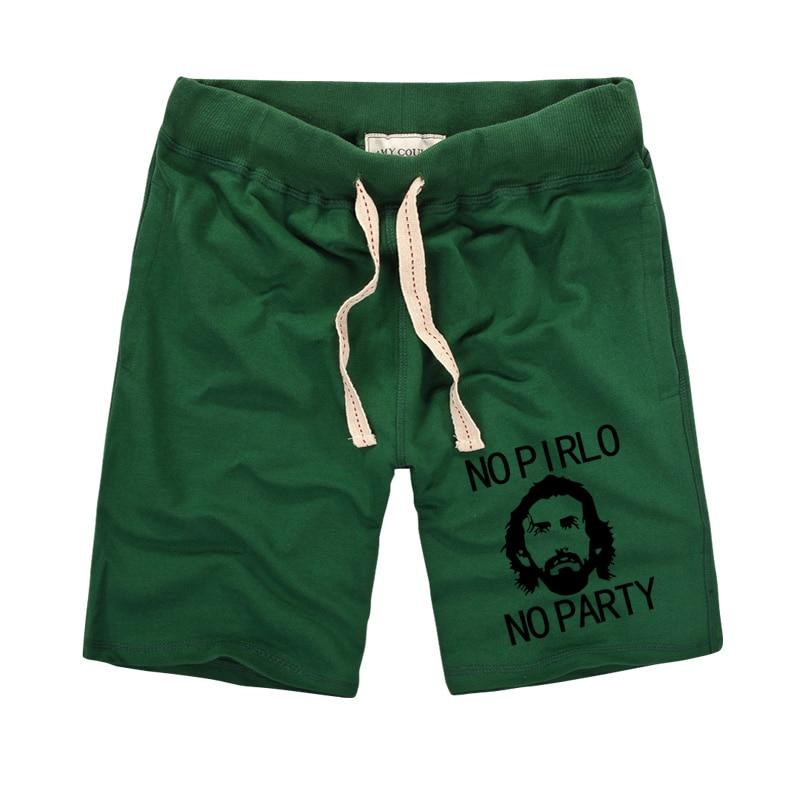 No Pirlo No Party Impreso pantalones cortos creativos 2019 Moda de - Ropa de hombre - foto 4