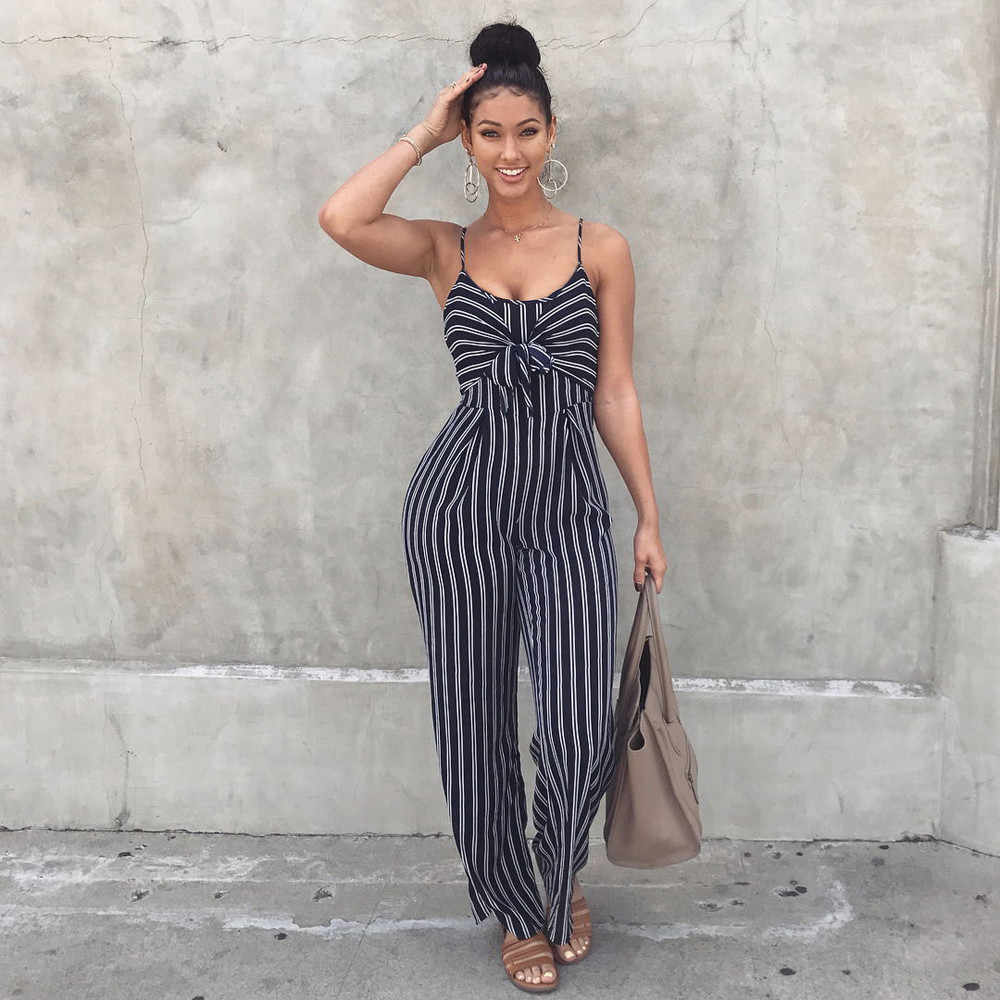 Fashion New Arrival New Style HOT Selling Womens Clubwear Strappy Striped Playsuit Bandage Bodysuit Party Jumpsuit Sexy #30