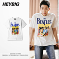 British Rock and Roll nostalgic Youth Tee HEYBIG version Swag T-shirts metal music Tops Band Clothing Asian Sizing!