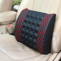 Electric Massage Lumbar Car With Waist Support Seat Cushions Back Supplies Neck Relax Tool Health Care