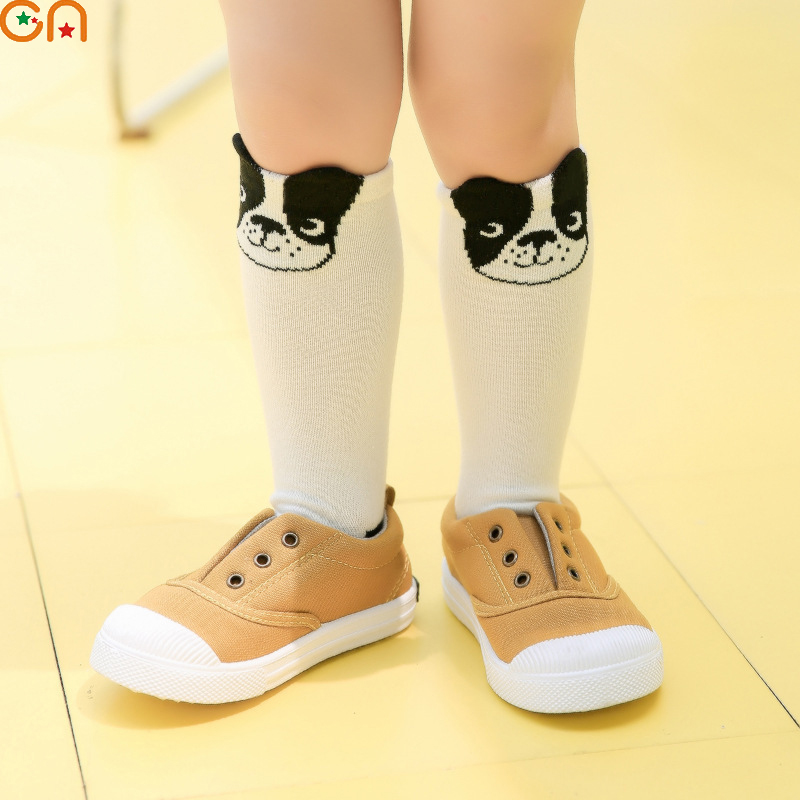 Boy,Girl cotton Socks Children,Baby,Infant fashion Cartoon dog Knee High socks Autumn,Winter for 1-5T Kids High-quality gifts CN