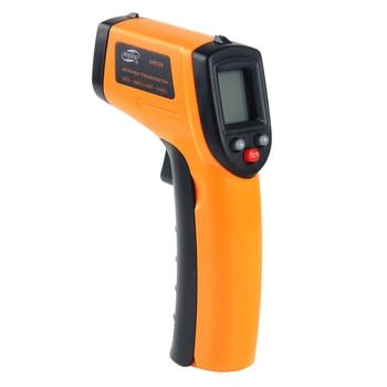 Nou estil de mesurament de temperatura BENETECH i infraroig làser per a mesurador de temperatura de pistola sense fil