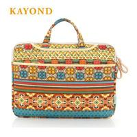 Kayond Brand Retro Laptop Bag Super Thin Light Laptop Sleeve Case Waterproof Shockproof Cover For Macbook