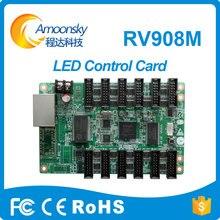 Trabalho com ts802d cartão enviando Linsn recebe o cartão de controle RV908M32 para exibição levou ao ar livre brilho 2800-3200nits p3.91