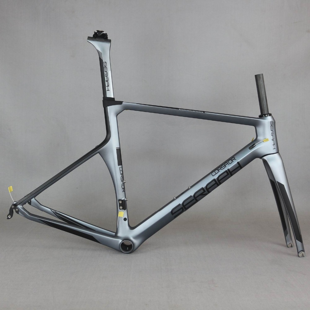SERAPH bike racing frame Carbon Road Frame Carbon Road Racing Frame TT X1 accept custom painting