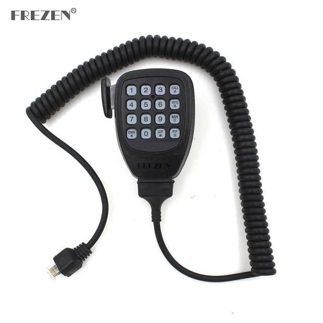 Haut-parleur Radio micro DTMF 8 broches micro à main pour talkie-walkie Kenwood TM271A TM471A TK768G TK868G TM261 TM461 Radio bidirectionnelle