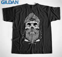 Summer Tops  MenS Arrival Kult S M L Xl 2Xl 3Xl Skull Tattoo O-Neck Short Sleeve Fashion T Shirts