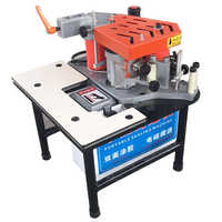 FC1001S Edge Banding Machine Portable Two-sided Gluing Edge Bander speed  controllable Woodworking Edge Banding Machine 220V 750W