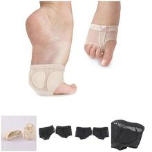 2019 Fashion Droppshiping 1 Pair Soft Sole Paw Ballet Cover Dance Foot Forefoot Toe Feet Protection Pad Shoes BFJ55