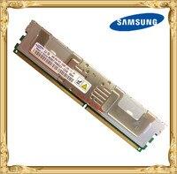 Samsung память сервера DDR2 8 Гб оперативной памяти, 16 Гб встроенной памяти, 667 МГц PC2-5300F Оперативная память ECC FBD FB-DIMM fb-dimm 240pin 5300 8G 2Rx4
