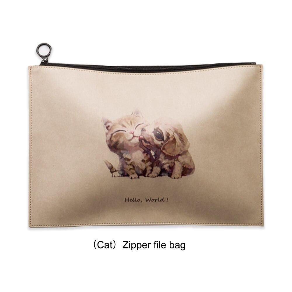 MIRUI высокое качество zip файл мешок водонепроницаемый офис файл сумка канцелярская папка мешочек подача товара сумка набор канцелярских принадлежностей