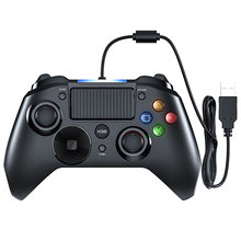 Wired Gaming Controller for PS4 Game Controller USB Gamepad for PC Computer Laptop Gaming Play Android TV Cellphone 2017 hot classic controller with usb gaming gamer joystick joypad for nes windows pc for mac computer game controller gamepad
