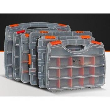1 шт., высокое качество, АБС-пластик, ящик для инструментов, коробка для хранения инструментов с блокировкой, отвертка, аппаратные аксессуары...