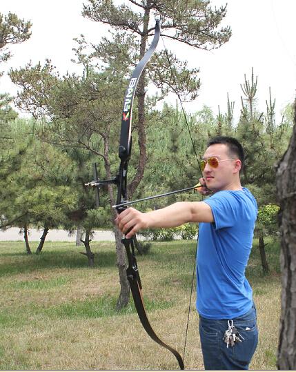 kaimei Dragon Al-Mg riser handle recurve archery  bow sets