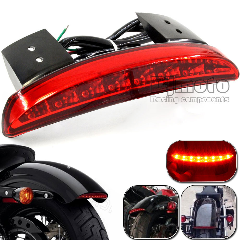 Aliexpress Com Buy Motorcycle Rear Fender Edge Led Tail