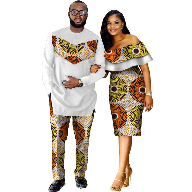 African-Dashiki-Print-Couple-Clothing-for-Lovers-Two-Piece-Set-Men-s-Suit-Plus-Women-s(8)