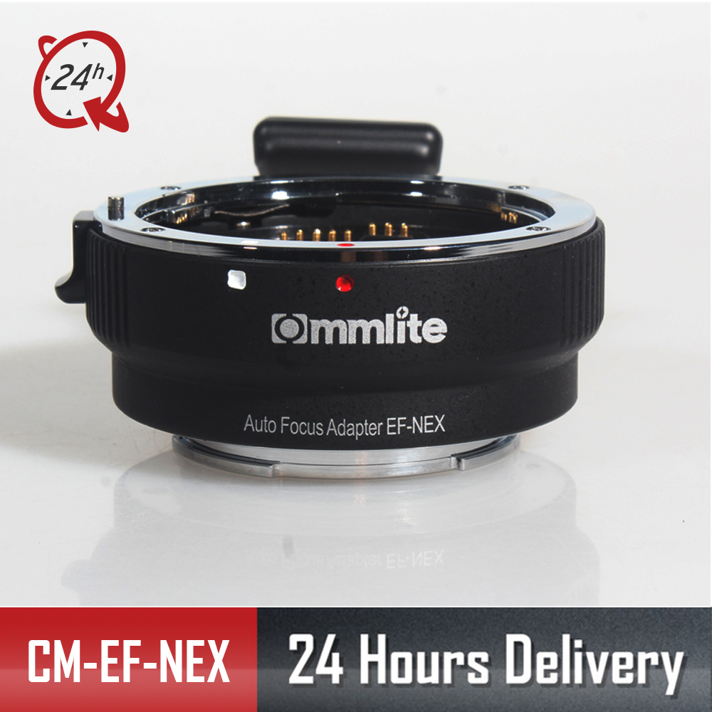 Original COMMLITE CM EF NEX Auto Focus for Canon EF Series Lens and Sony Full frame