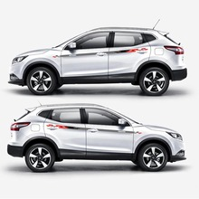 цена на TAIYAO car styling sport car sticker For Nissan QASHQAI Mark Levinson car accessories and decals auto sticker