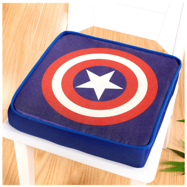 Fashion Flag Cartoon Pattern Comfortable Seat Cushion Home Decor Office Chair  Pad 40x40x8cm High Quality Mat