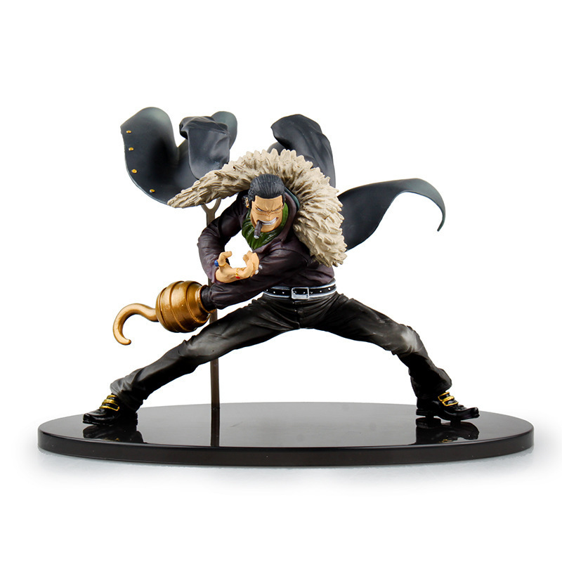 One Piece Sir Crocodile Figure DXF SC SCultures BIG MR 0 Sasha Vujacic One Piece Model Action Figure Anime Toy Collection Gift anime one piece dracula mihawk model garage kit pvc action figure classic collection toy doll