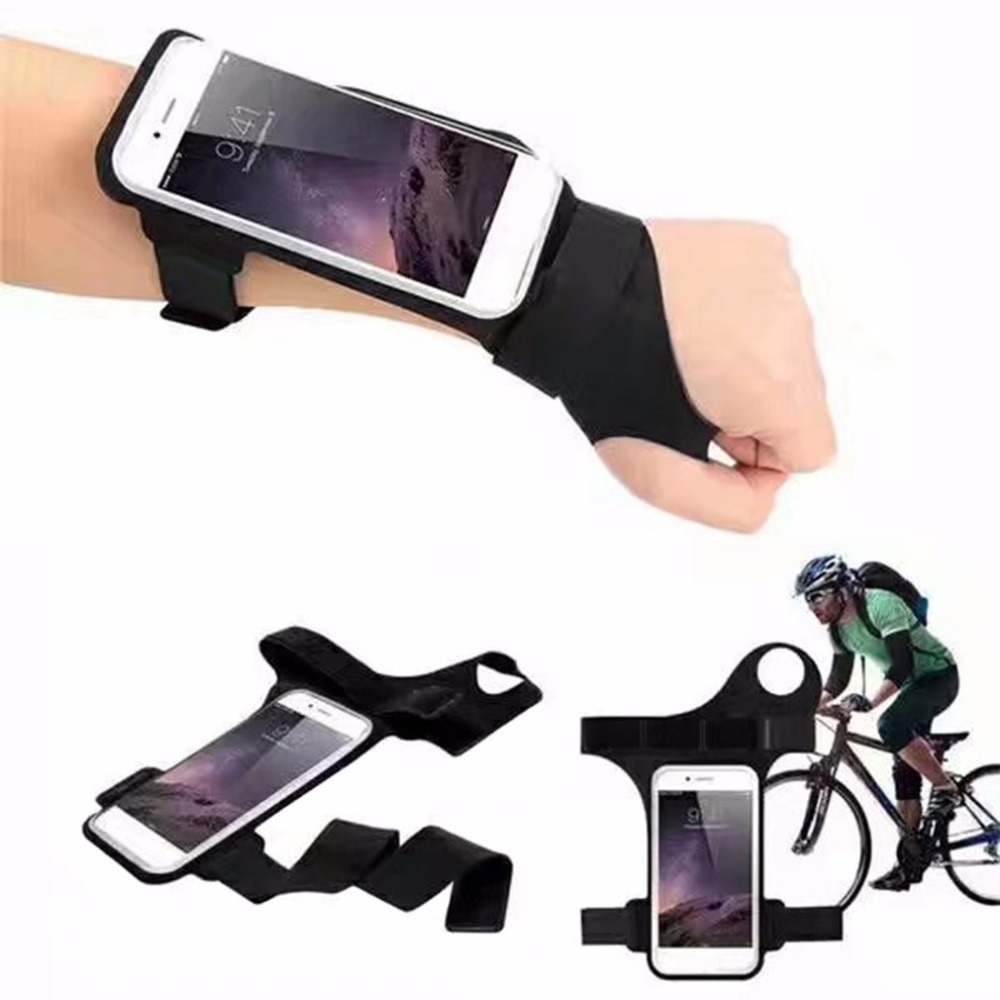 Trend Thumb Arm Band Running Riding Arm Band Case Waterproof Outdoor Wrist Bag For iPhone Case Sport Mobile Phone Holder Bags