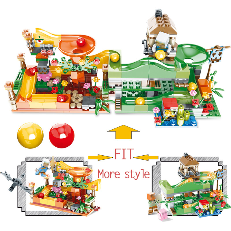 Crystal Light Action Toy Figures Building Blocks Educational Toy My world Compatible LegoINGLY Minecrafter Toys for Children 1