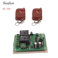 Practical DC 24V 2CH 433MHz 315MHz Wireless Remote Control Switch Compatible Learn Code Wireless Remote Control