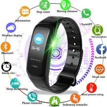 Relogio LIGE Smart Bracelet Waterproof Sports Watch Fitness Pedometer Heart Rate Blood Pressure Monitoring Smart Wristband watch