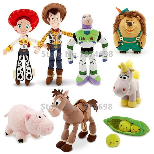 Toy Story Woody Buzz Lightyear Bullseye Horse Peas in a