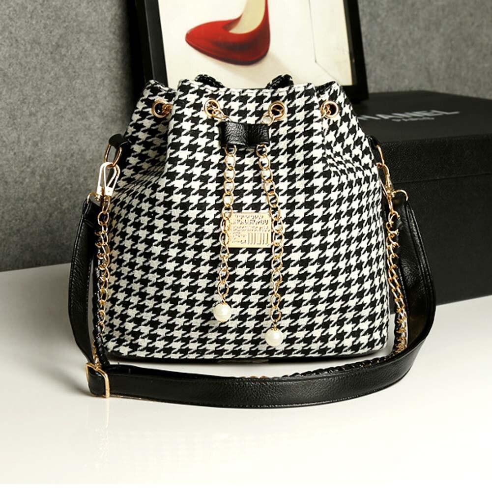 Women's Delicate Bucket Bag Chain Shoulder Bag Messenger Bag Tote Best Sale-WT
