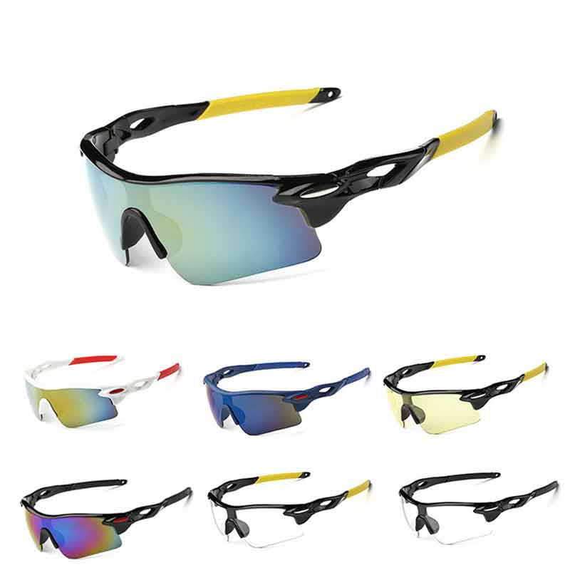 Sunglasses Outdoor Sport Fashion Car Motorcycle Outdoor Cross-country Explosion-proof Sunscreen Sunglasses  Unisex Windproof
