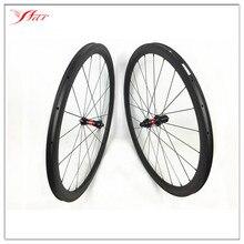 Triathlon bike wheels 700C 38mm carbon clincher wheelset U shape wheelset  , DT 240s and Sapim aero spokes