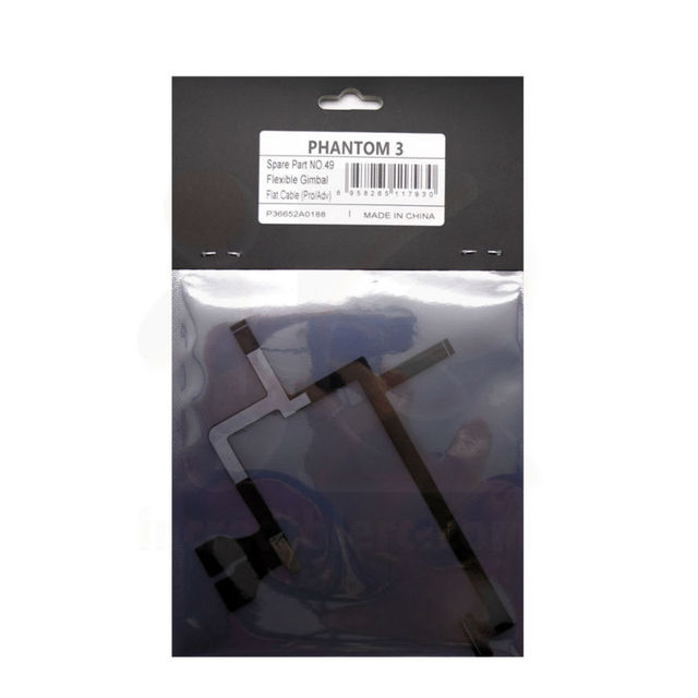 100% oryginalny nowy elastyczny kabel płaski Gimbal część 49 dla DJI Phantom 3 Pro/Adv