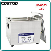 COXTOD JP 060S Ultrasonic Jewelry Cleaner 15L Basket Lavatrice Ultrasuoni Ultrasoon Reiniger Digital Heated Ultrasonic Bath