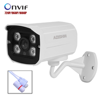 HOBOVISIN IP Camera 720P 960P 1080P 4pcs ARRAY LED P2P ONVIF Outdoor Metal Case IP66 Security