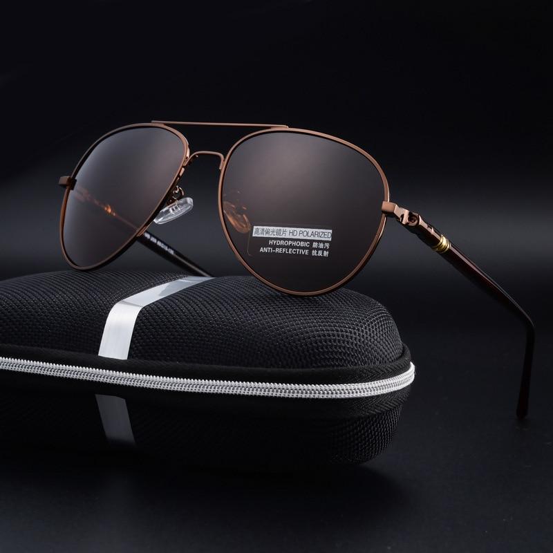 ... Óculos Polarizados Homens Marca De Luxo Clássico Designer de Condução  Oculos UV400 Óculos de Sol Do Vintage de Alta QualidadeEUA  12.93  piece  2017 Sem ... bf8f8f3cc8
