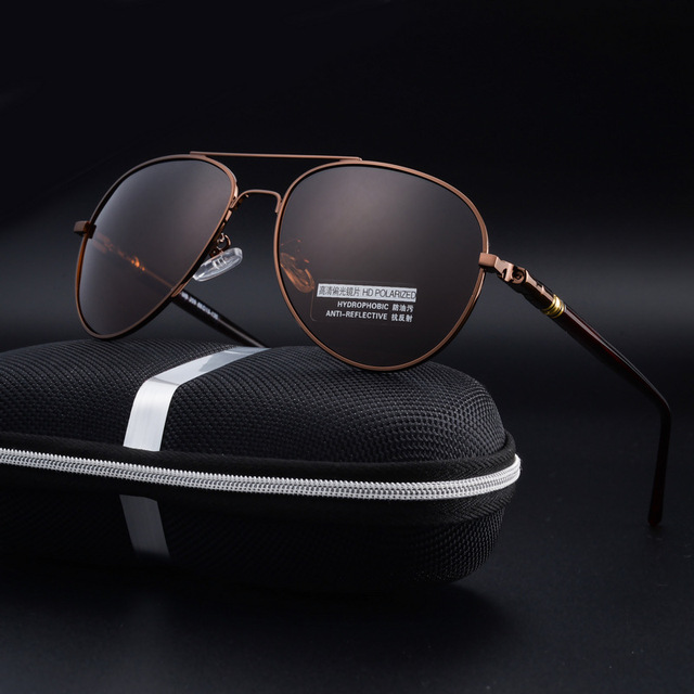 2060bdfbfff 2017 Fashion Brand Polarized Sunglasses Men Luxury Brand Designer Classic Driving  UV400 Vintage Sun Glasses High