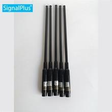 Antena UV 144mhz 430mhz Banda ancha dual telescópica VHF/UHF 144/430MHz antenas de Radio de dos vías SMA macho
