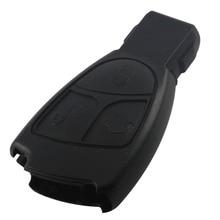 Бесплатная доставка для mercedes benz ключи от машины замены 3 кнопки удаленный случае ключ с логотипом