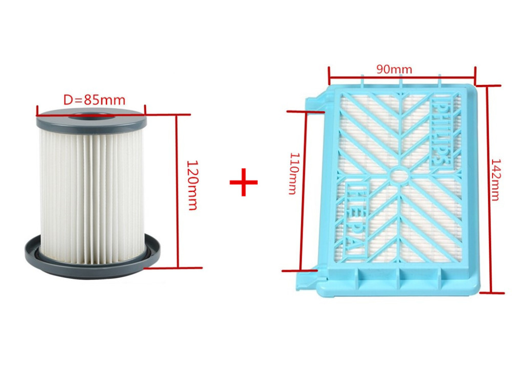 Vacuum Cleaner Accessories Cleaner Wind the HEPA+Filter Element For Philips FC8712 FC8714 FC8716 FC8720 FC8722 HEPA Filter sprut hijaro 3 6g 40mm lspk