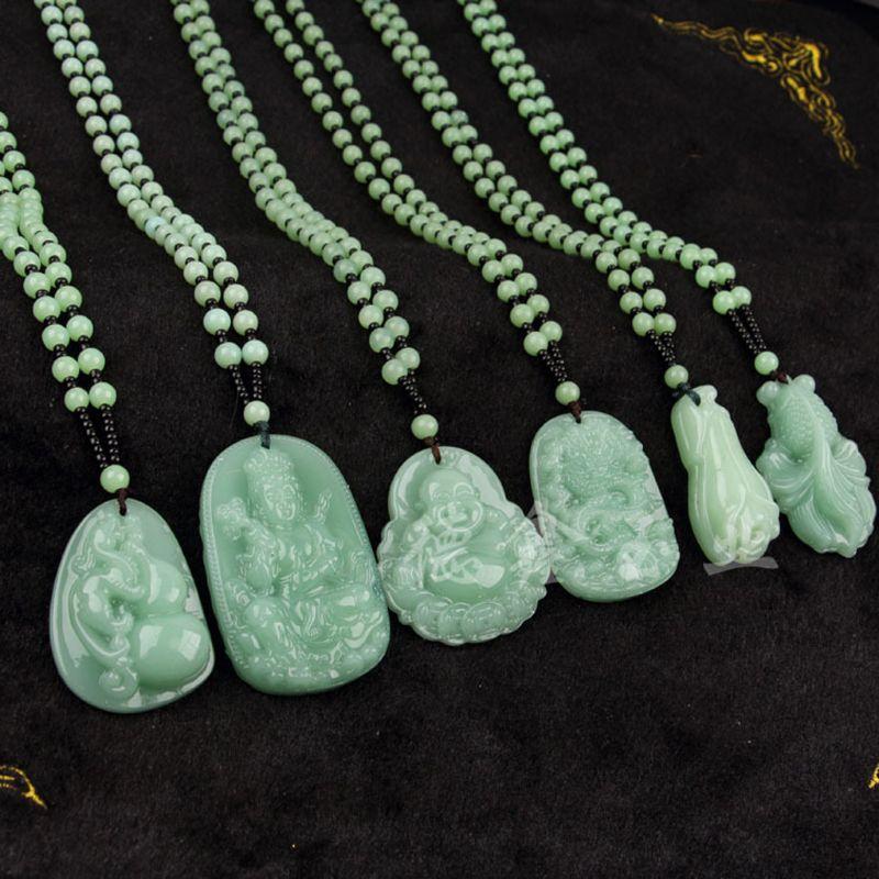 5Pcs Buddhism Jade Pendant Silicone Mold Kit Epoxy Resin Jewelry Making Tools