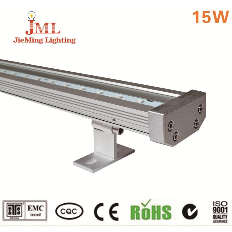 15w 100cm led bar light linear light 12v aluminum material outdoor landscape recessend ceiling for Exterior linear led sign light