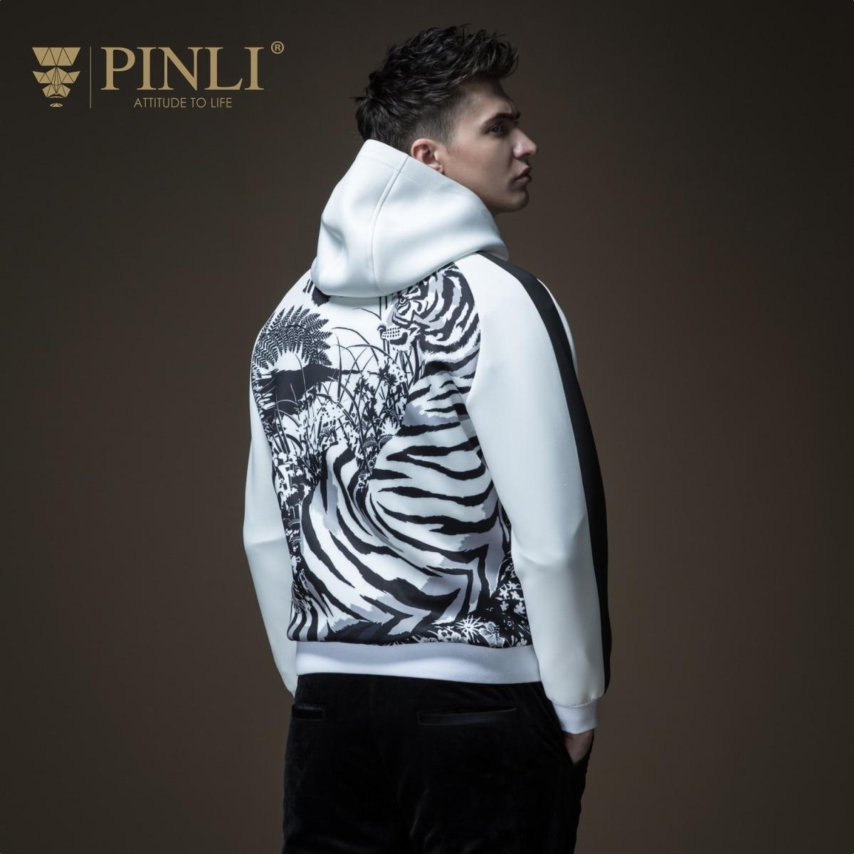 Bombardero chaqueta hombres chaqueta venta Jaqueta Masculino Pinli producto Otoño de 2018 nuevas chaquetas ropa de los jóvenes de Color de impresión de abrigo B183309088
