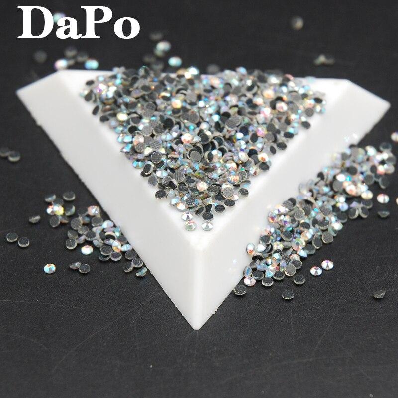 Super Shiny Crystal AB Hot Fix Stones DMC Hotfix Rhinestones ... e2304afdbd7a