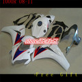 black blue white CBR1000RR 08-11 2008 2009 2010 2011 CBR1000 RR Body Kit Fairing For  CBR 1000RR CBR 1000 RR 08 09 10 11