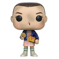 NEW Hot 9cm Q Version Stranger Things Eleven Action Figure Toys Collector Christmas Gift Doll With